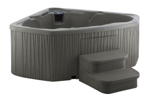 Plug & Play Embrace hot tub by Fantasy Spas
